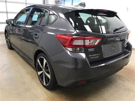 grey subaru impreza hatchback 2018 subaru impreza 4 door station wagon in lethbridge