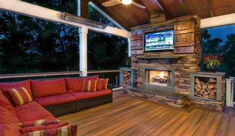 outdoor tv room outdoor tv enclosure ideas take the entertainment outdoors