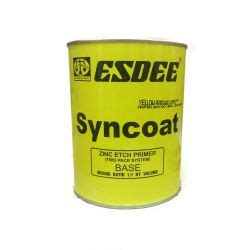 yellow primer buy esdee syncoat zinc etch primer yellow online bohriali