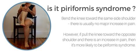 test piriforme sciatica and piriformis bowen therapy