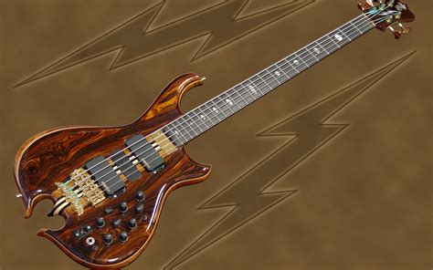 Handmade Bass - custom bass guitar wallpaper faxo