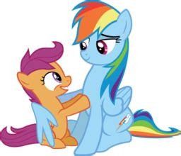 Sprei Fata No 1 Pony rainbow dash and scootaloo team fortress 2 gt sprays gt tv
