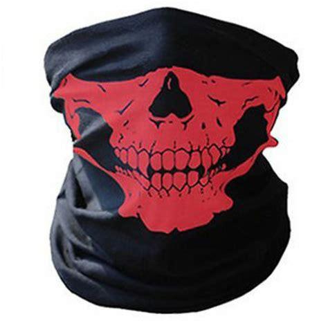 skull scarf mask bandana bike cycling