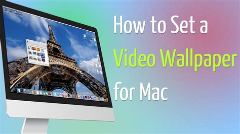set wallpaper for apple watch how to set a video wallpaper for mac youtube