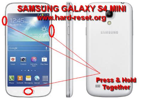 reset in samsung s4 how to easily master format samsung galaxy s4 mini gt