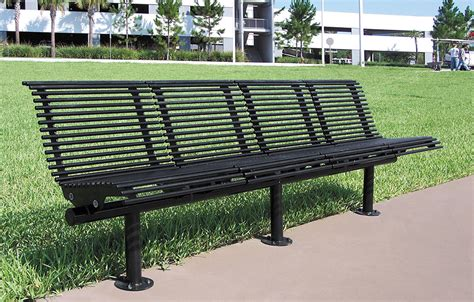 Bench Site Modern Bench Site Amenities Apc Shelters