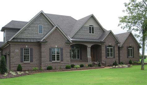 Ranch Home Design by The Birchwood Plan 1239 Craftsman Exterior Charlotte