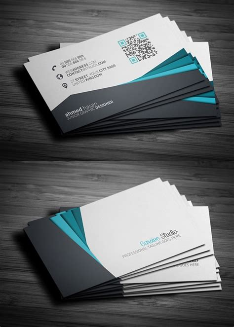 modern business card templates free best business card template free sanjonmotel