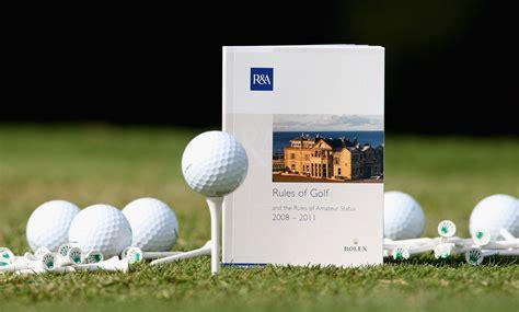 golf rules   glance   depth