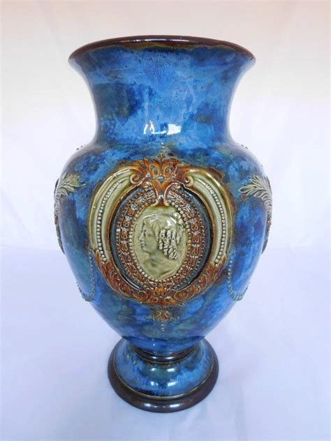 Antique Royal Doulton Vases by Antique Royal Doulton Lambeth Vase Pattern No 7114 Ebay