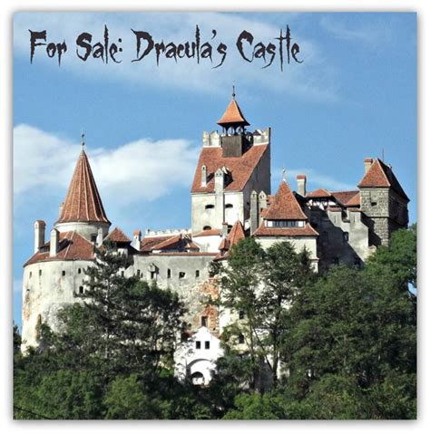 bran castle for sale wanna buy dracula s castle