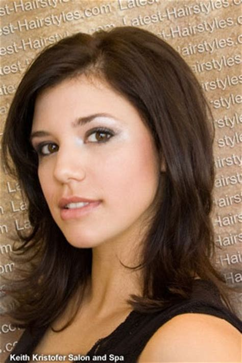 curl side bangs vertically medium hair with side bangs love this soft curl at the