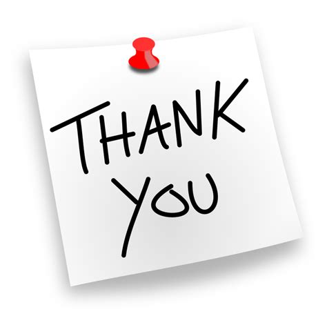 Thank You Note Clipart thank you pinned by juliobahar a simple thank you noted