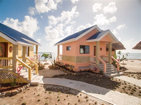 Luxury Homes In Belize Harvest Caye Luxury Island Villa