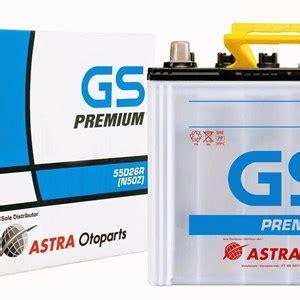 Aki Mobil Gs Premium 95d31l jual aki mobil gs astra premium n50z harga murah surabaya