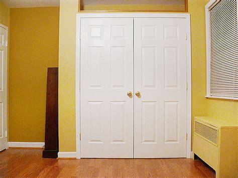 replace  hollow core sliding closet doors  nicer