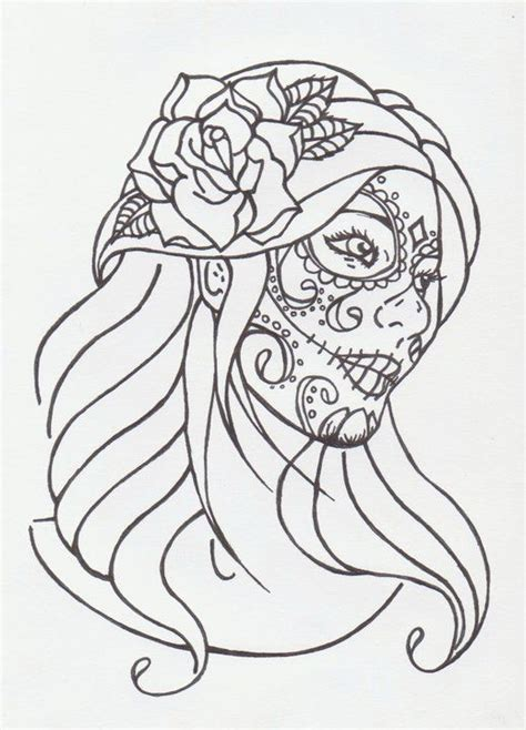 sugar skull by 10 ink 171 pinned tattoos 171 other 171 tattoo