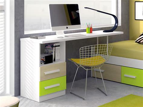 cama escritorio mesa escritorio con soporte de cama nido para espacios