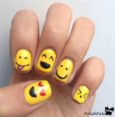 Smiley Nail pals s is for smiley