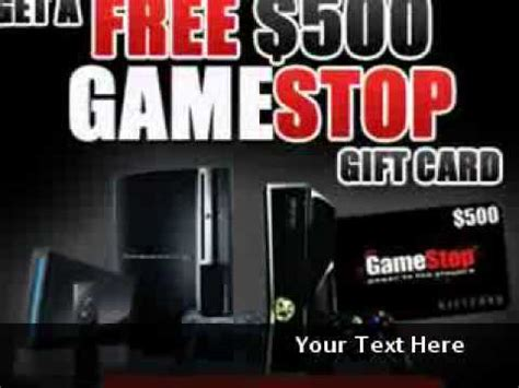 Gamestop Gift Card Not Working - win free 500 game stop gift card youtube