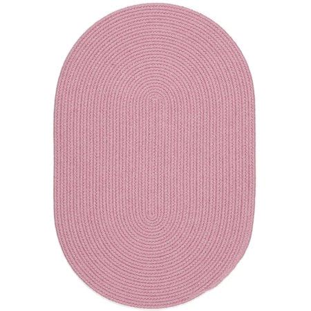 10 foot oval rug pink rug braided solid color 10 foot by 13 foot oval soft