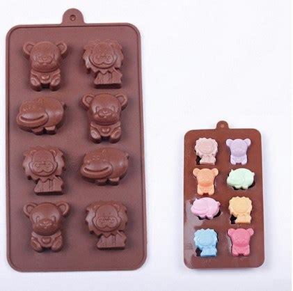 Cetakan Hippo Jelly Es Batu Coklat cetakan es silikon puding permen cookies karakter