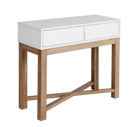 Console Tables Argos Hygena Zander Console Table Two Tone Octer 163 89 99