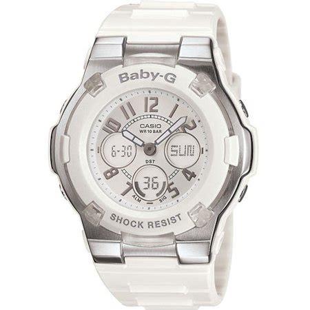 Baby G For Ladys casio baby g white bga110 7b walmart