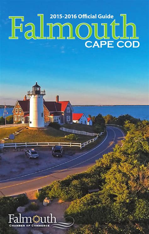 c burgess cape cod 2015 2016 official guide to falmouth cape cod by falmouth
