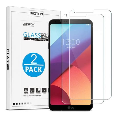 Ume Tempered Glass Screen Protector For Lg G6 Transparan best tempered glass screen protectors for lg g6