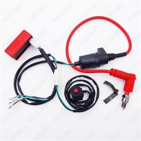 Where Does My Kill Switch Go Ktm 2 Stroke Thumpertalk Dirt Pit Bike Wiring Harness Kill Switch Ignition Coil Cdi Set 110 125 140 150cc Ebay