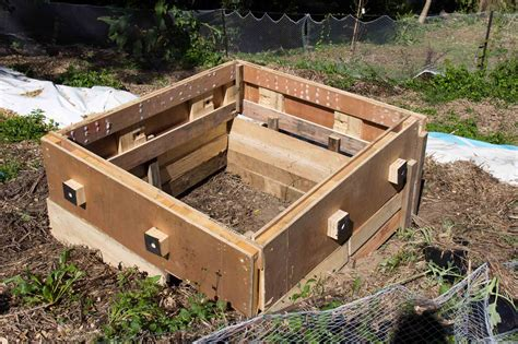 pallet garden bed possum proof raised pallet garden bed with easy access