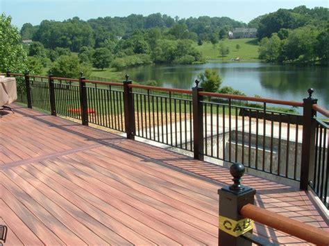Metal Pickets Deck Railing Metal Deck Railing Choices To Choose Resolve40