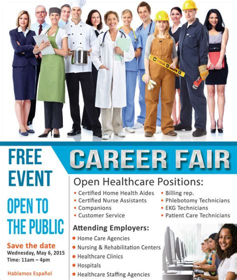 11 job fair flyer free sle exle format download