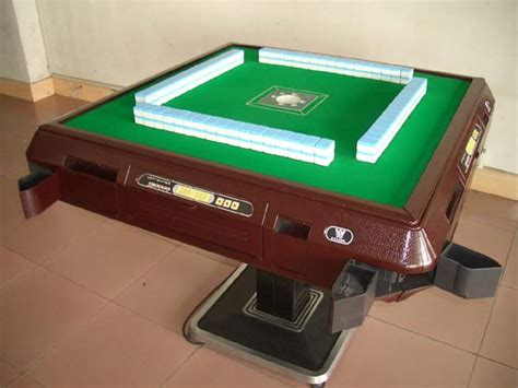 electronic mahjong table automatic mahjong table mm13 china manufacturer