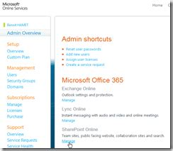 Office 365 Portal Site Connection Office 365 Manage Your Sharepoint Site Collection And