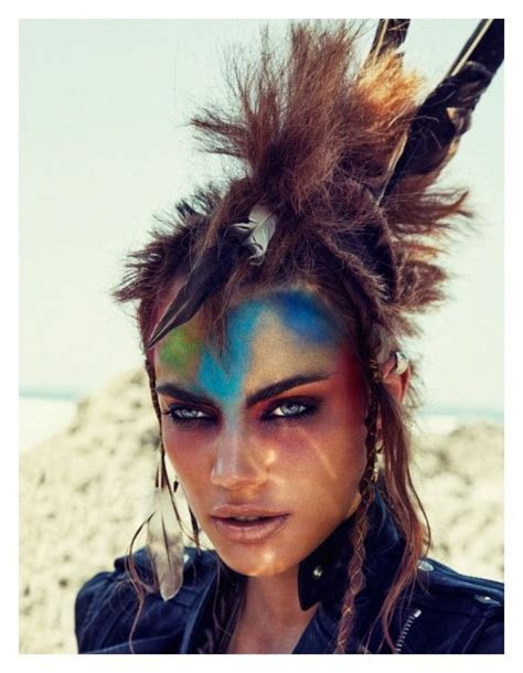 warrior looking hairstyles want the warrior look lily jackson hair makeup