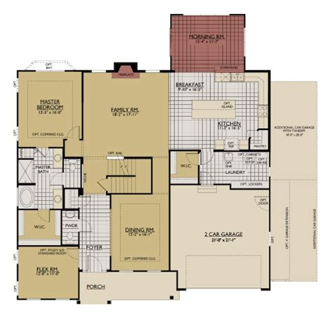 william ryan homes floor plans interactive floorplan william ryan homes jensen model