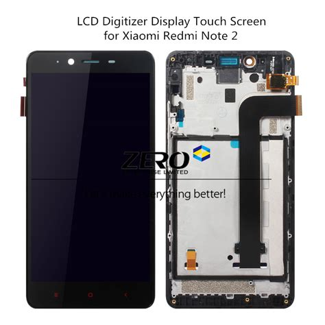 Spare Part Xiaomi Redmi 2 lcd digitizer display frame for xiaomi redmi note 2