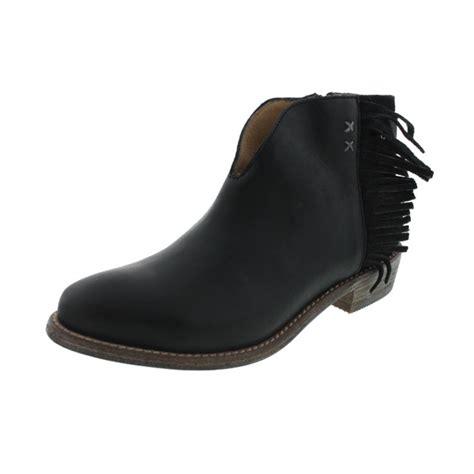 fringe boots for koolaburra 5429 womens dallas leather fringe western ankle