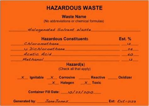 hazardous waste contingency plan template hazardous waste management plan 183 connecticut college