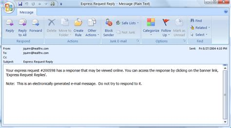 email reply template exr reply email notification sle administrator