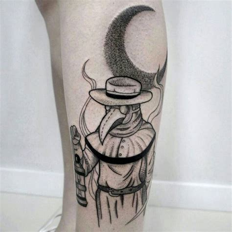 plague doctor tattoo 33 obscure plague doctor designs tattooadore
