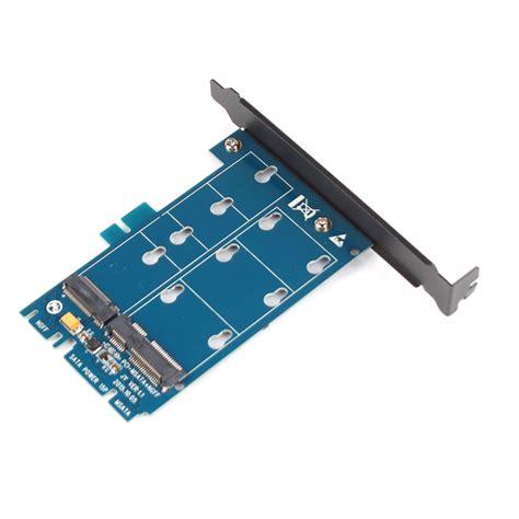 Ngff Sata m 2 ngff to sata and msata to sata3 adapter card dual