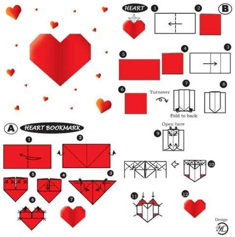 How To Make Hearts From Paper - origami hearts together with japan
