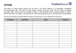 petition sign up sheet template petition template write a petition