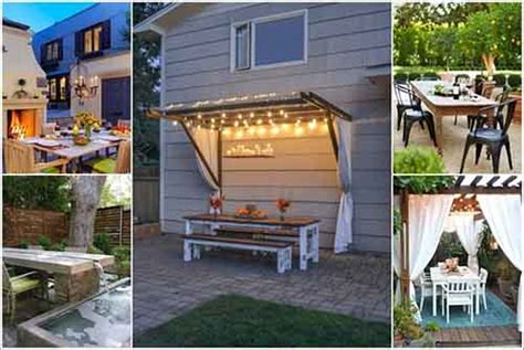 10 ways to up your outdoor space with string lights 10 ways to make your outdoor dining space awesome lil