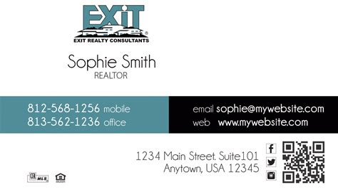 Exit Realty Business Cards Unique Exit Realty Business Cards Best Exit Realty Business Cards Exit Realty Business Cards Template
