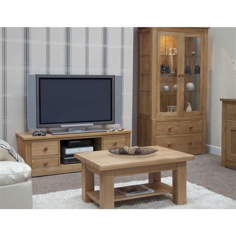 ohio large coffee table solid oak living room furniture ebay