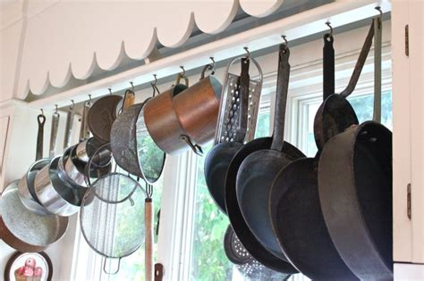 Thing To Hang Pots And Pans On What S In Your Kitchen Susan Branch